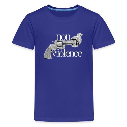 NON-VIOLENCE - Premium-T-shirt tonåring
