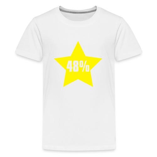 48% in Star - Teenage Premium T-Shirt