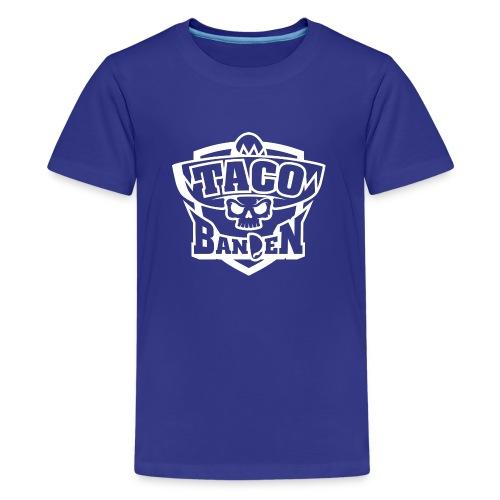 TB-Hoodie White - Premium T-skjorte for tenåringer