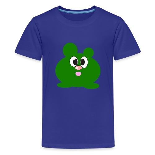 Green Monster by ArtShirt Kidz - Teenage Premium T-Shirt