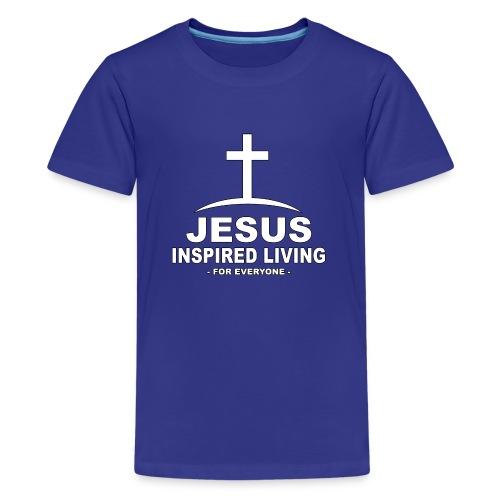 Jesus Inspired Living - Premium-T-shirt tonåring
