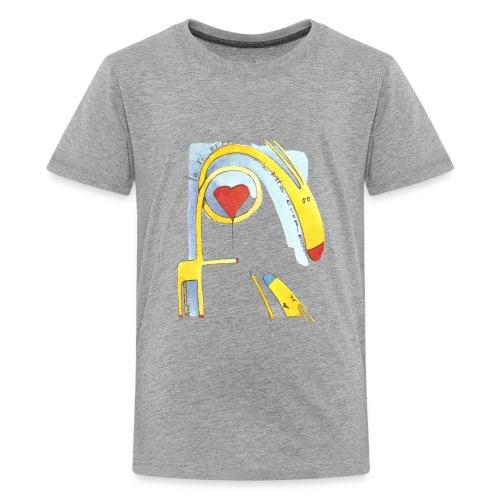 Giraffa innamorata - Maglietta Premium per ragazzi