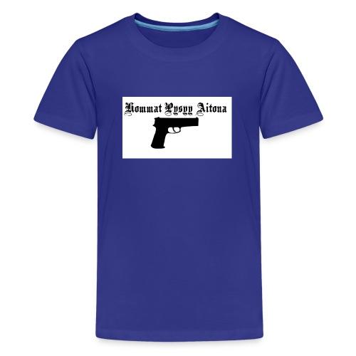 hommat pysyy aitona paita - Teinien premium t-paita