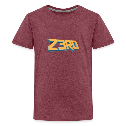 The Z3R0 Shirt - Teenage Premium T-Shirt