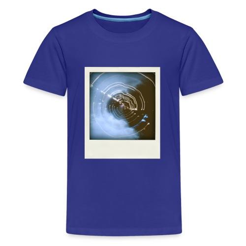 T-shirt Light-painting Polaroid - T-shirt Premium Ado