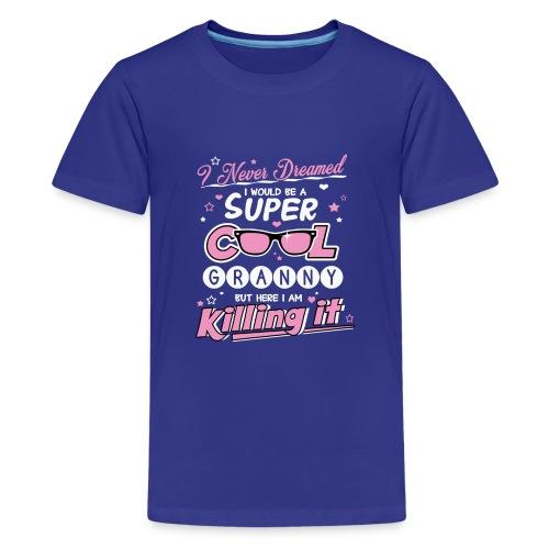 Super Cool Granny - Teenage Premium T-Shirt