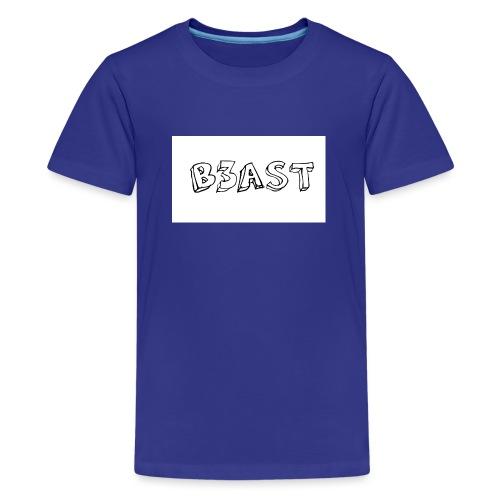B3AST Mouse Pad - Teenage Premium T-Shirt