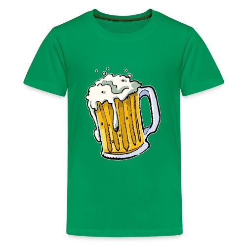 Boccale Birra - Maglietta Premium per ragazzi
