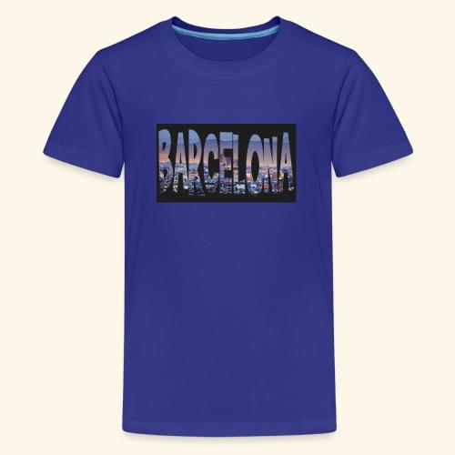 Barcelona - spain - Teenager Premium T-shirt