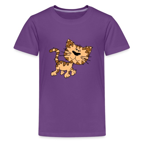 Cat - Teenager Premium T-Shirt