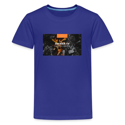 ZOCKER TV - Teenager Premium T-Shirt