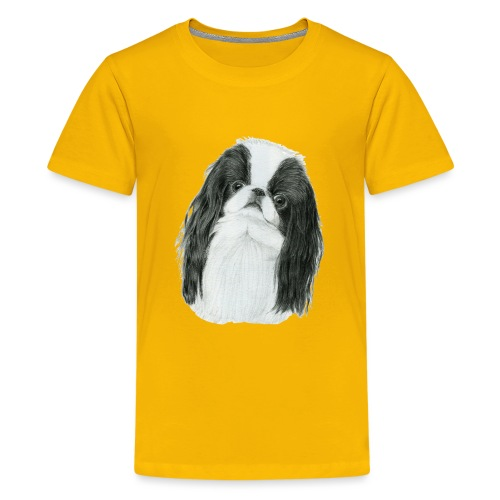 Japanese Chin - Teenager premium T-shirt