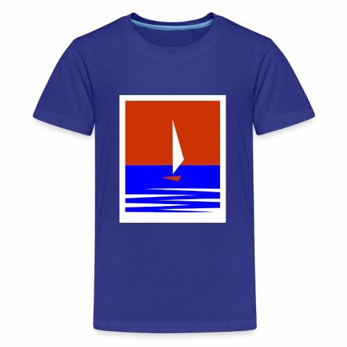 Segeln - Teenager Premium T-Shirt