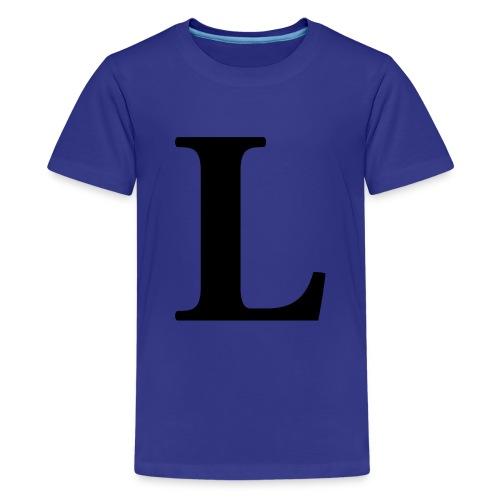 TRØJE DESIGN - Teenager premium T-shirt