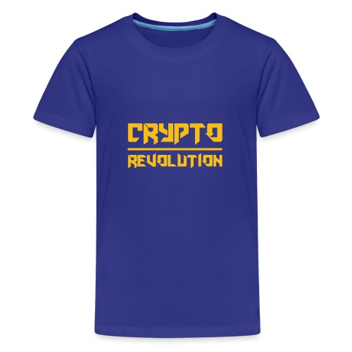 Crypto Revolution III - Teenage Premium T-Shirt