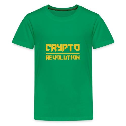 Crypto Revolution III - Teenage Premium T-Shirt