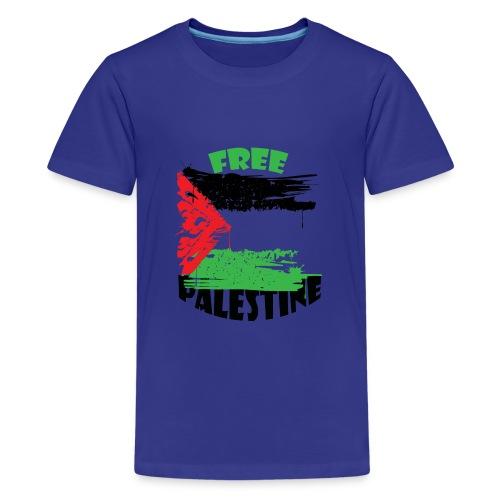 free palestine - T-shirt Premium Ado