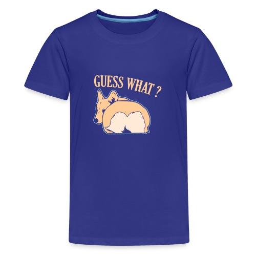 Corgi Hund Spruch Witzig Geschenk - Teenager Premium T-Shirt