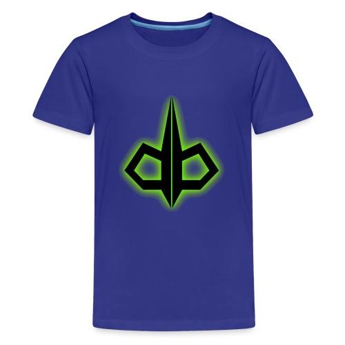 dark byte logo tshirt 2 - Teenager Premium T-shirt