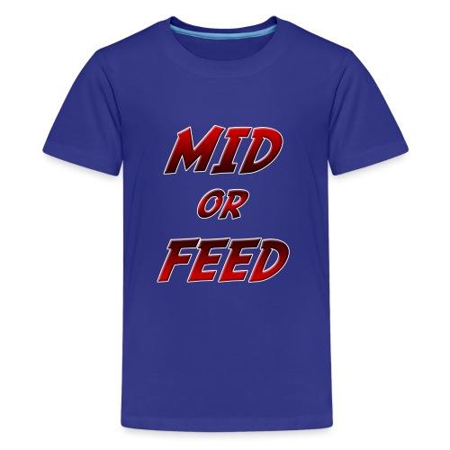 Mid or feed DONNA - Maglietta Premium per ragazzi