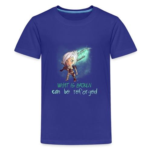 Chibi Riven con scritta - Maglietta Premium per ragazzi