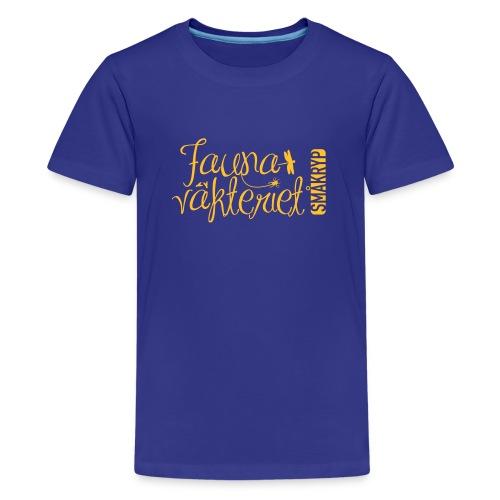 FV förenklad gul - Premium-T-shirt tonåring