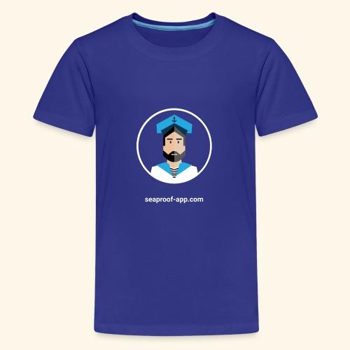 SeaProof App - Teenager Premium T-Shirt