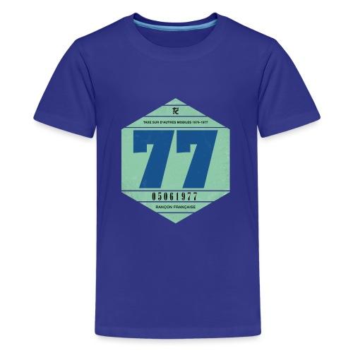 Vignette automobile 1977 - T-shirt Premium Ado