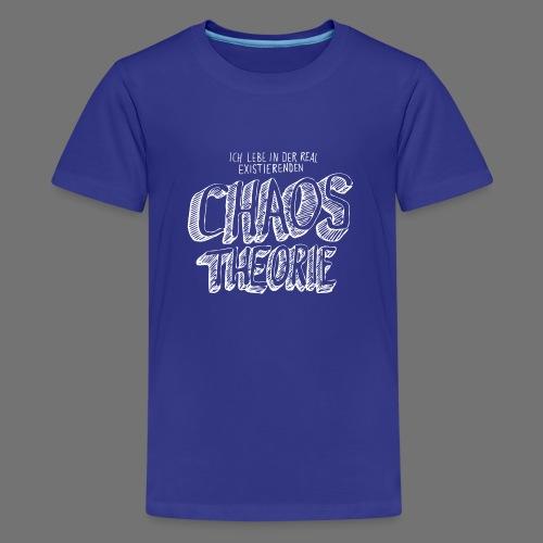 Chaostheorie (weiss) - Teenager Premium T-Shirt