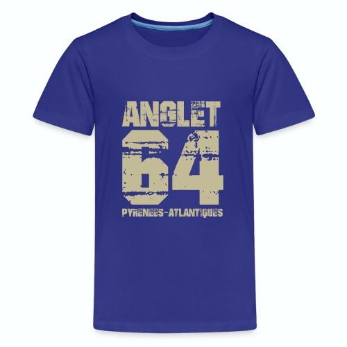 Aquitaine Pyrénées Atlantiques 64 Anglet - T-shirt Premium Ado