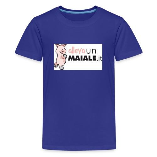 Allevaunmiale.it - Maglietta Premium per ragazzi