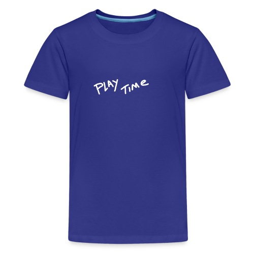 Play Time Tshirt - Teenage Premium T-Shirt