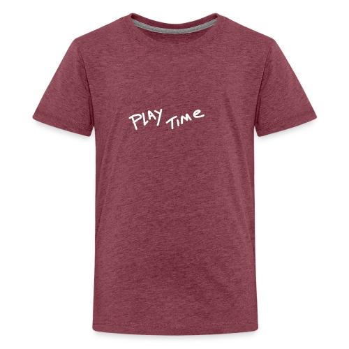 Play Time Tshirt - Teenage Premium T-Shirt