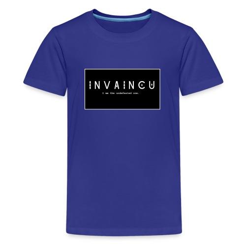 INVAINCU - Teenage Premium T-Shirt