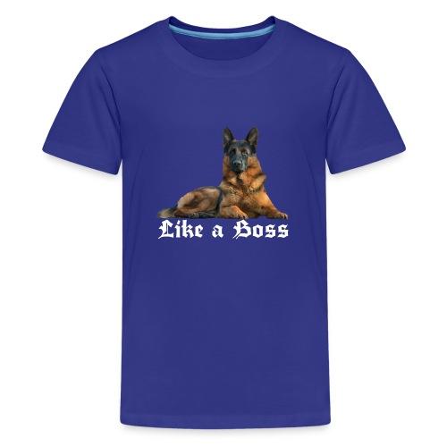 Schäferhund,Hundesport,Deutscher Schäferhunde, - Teenager Premium T-Shirt