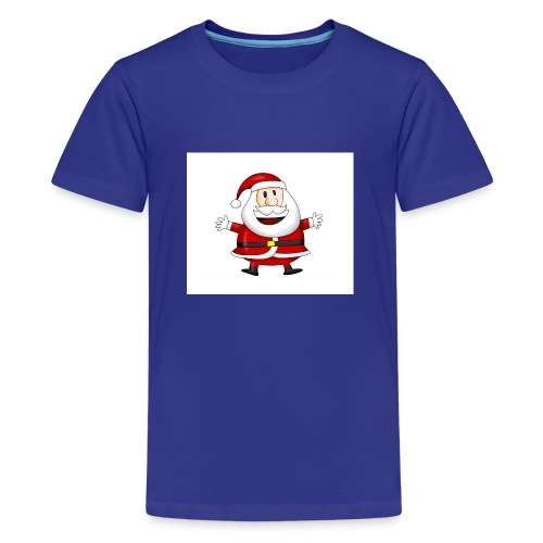 Happy-Santa-1--jpg - Teenager Premium T-shirt