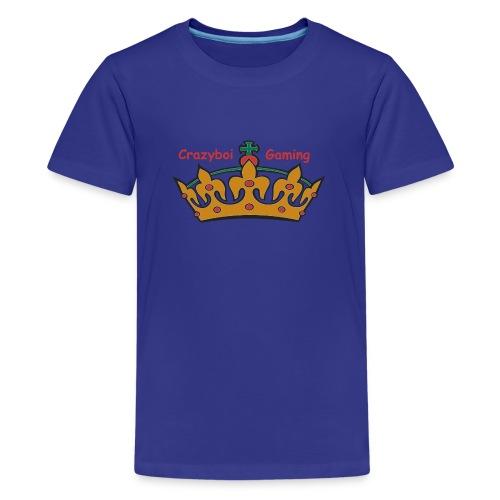 Crazyboi Gaming - Teenage Premium T-Shirt