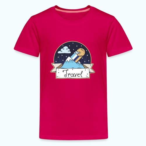 Travel - Teenage Premium T-Shirt
