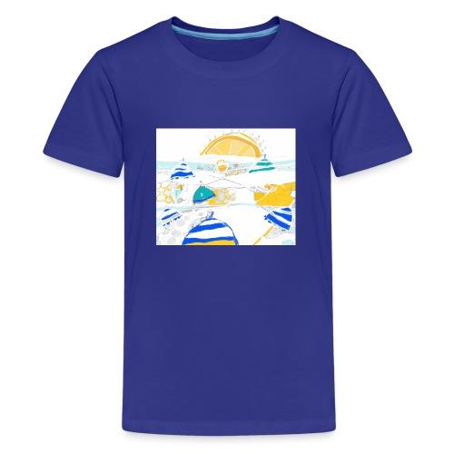 plage - T-shirt Premium Ado