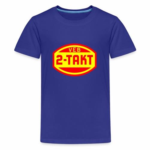 VEB 2-Takt Logo (2c) - Teenage Premium T-Shirt