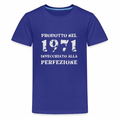Prodotto Invecchiato 1971 - Flock - Maglietta Premium per ragazzi