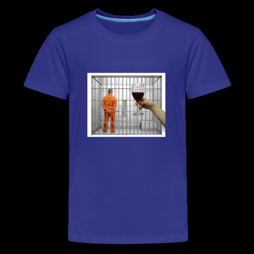 TRISH02 png - Teenage Premium T-Shirt