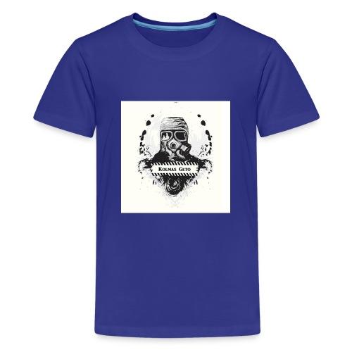 KOLMAS GETO LOGO VALMIS ISO RESOLUUTIO - Teinien premium t-paita