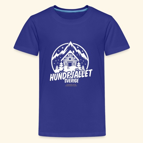 Sverige Ski Resort Sälen Hundfjället Design - Teenager Premium T-Shirt