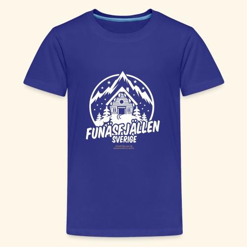 Funäsfjällen Sverige Ski resort T Shirt Design - Teenager Premium T-Shirt