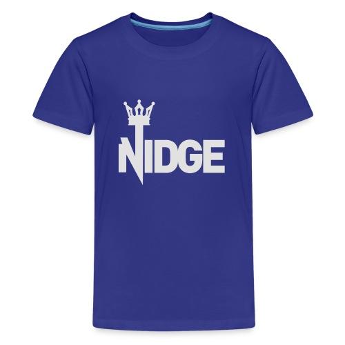 King Nidge - Teenage Premium T-Shirt