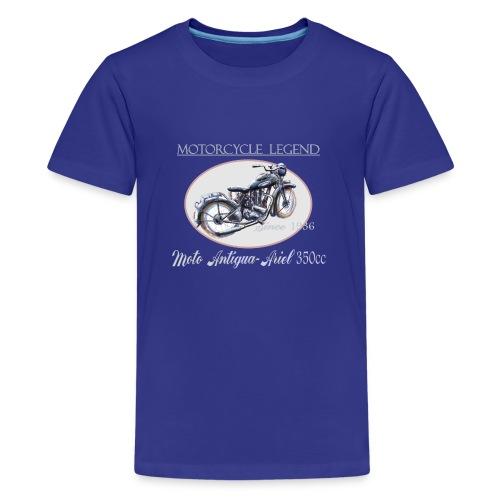 moto antigua - T-shirt Premium Ado
