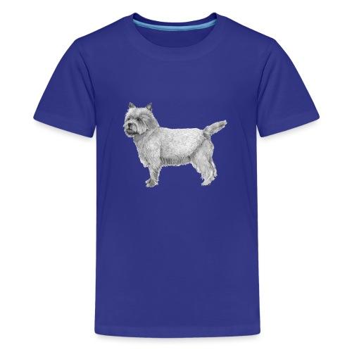 cairn terrier - Teenager premium T-shirt