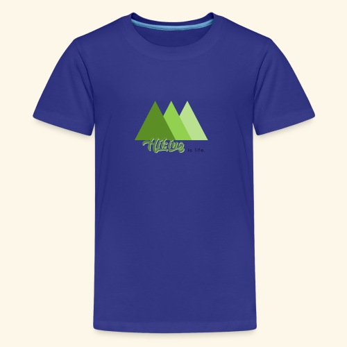 hiking - T-shirt Premium Ado