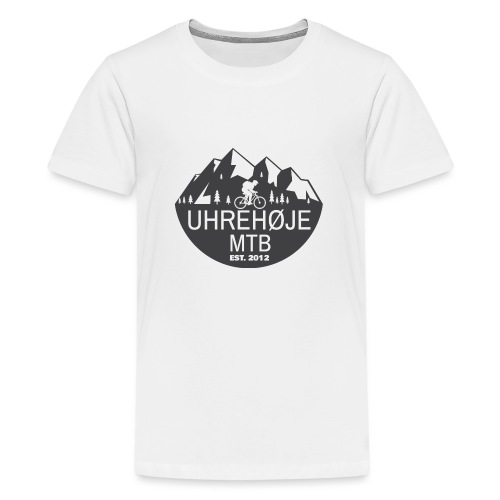 UhreHøje MTB - Teenager premium T-shirt